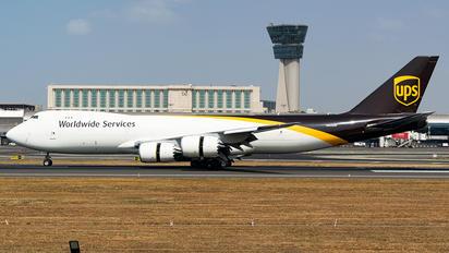 N609UP - UPS - United Parcel Service Boeing 747-8F