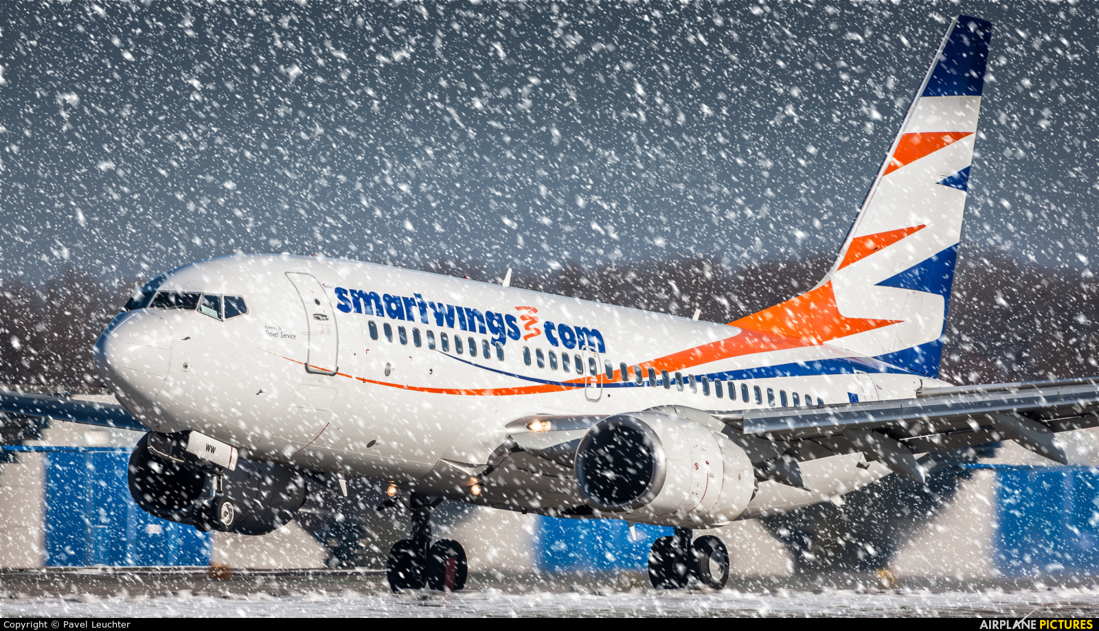 SmartWings OK-SWW aircraft at Pardubice