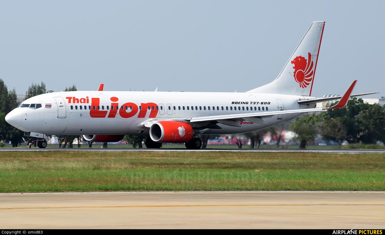 Thai Lion Air HS-LUK aircraft at Bangkok - Don Muang