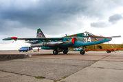 34 - Belarus - Air Force Sukhoi Su-25 aircraft