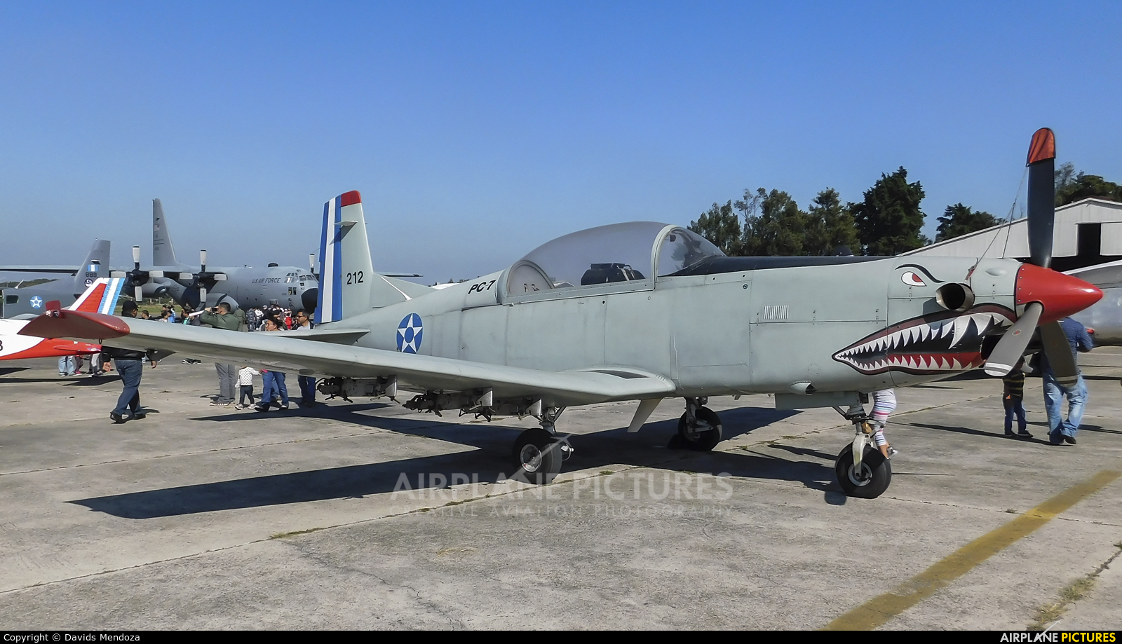 Guatemala - Air Force 212 aircraft at Guatemala - La Aurora