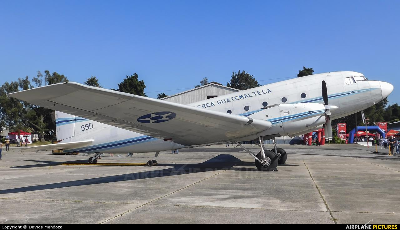 Guatemala - Air Force 590 aircraft at Guatemala - La Aurora