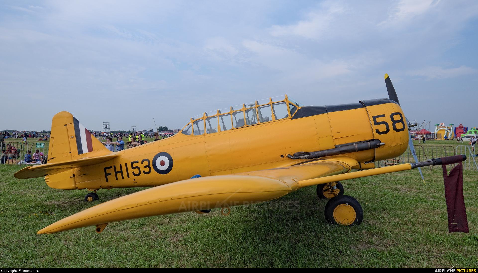 Private FH153 aircraft at Radom - Sadków