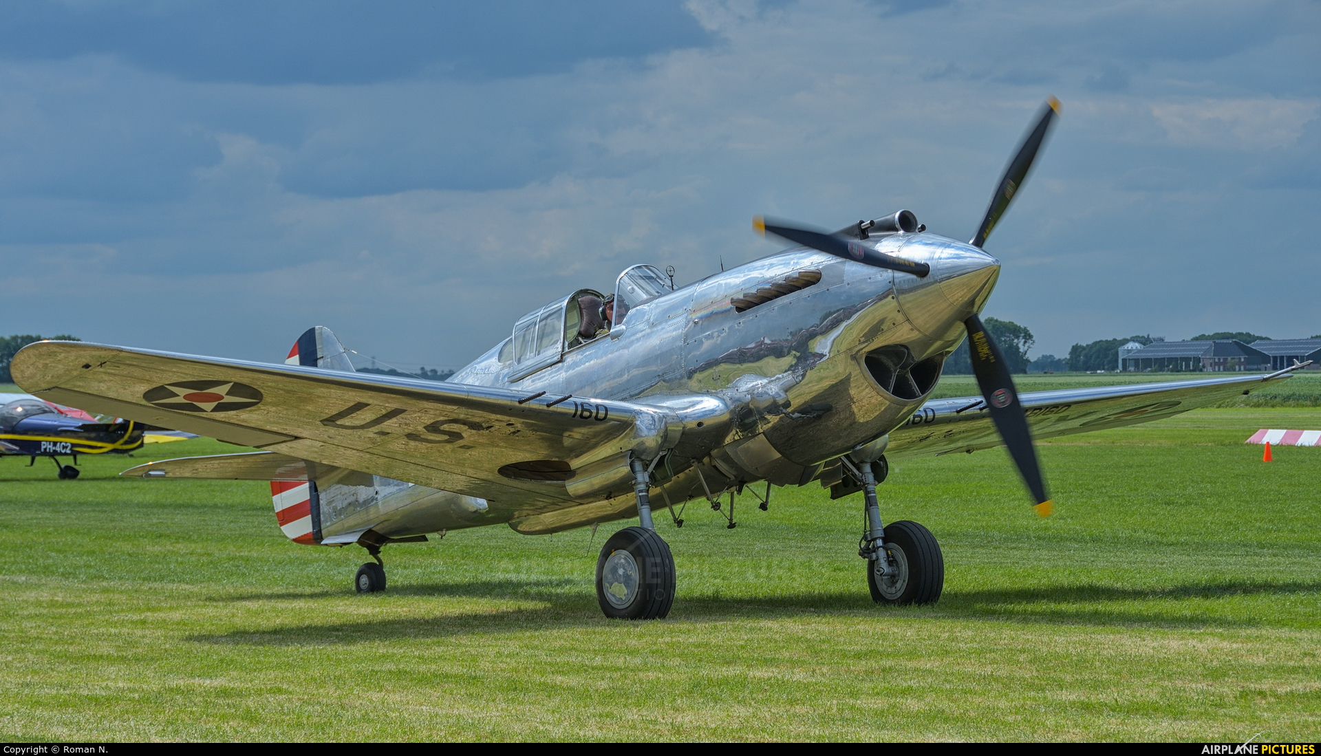 The Fighter Collection G-CIIO aircraft at Oostwold