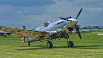 G-CIIO - The Fighter Collection Curtiss P-40C Warhawk IIB