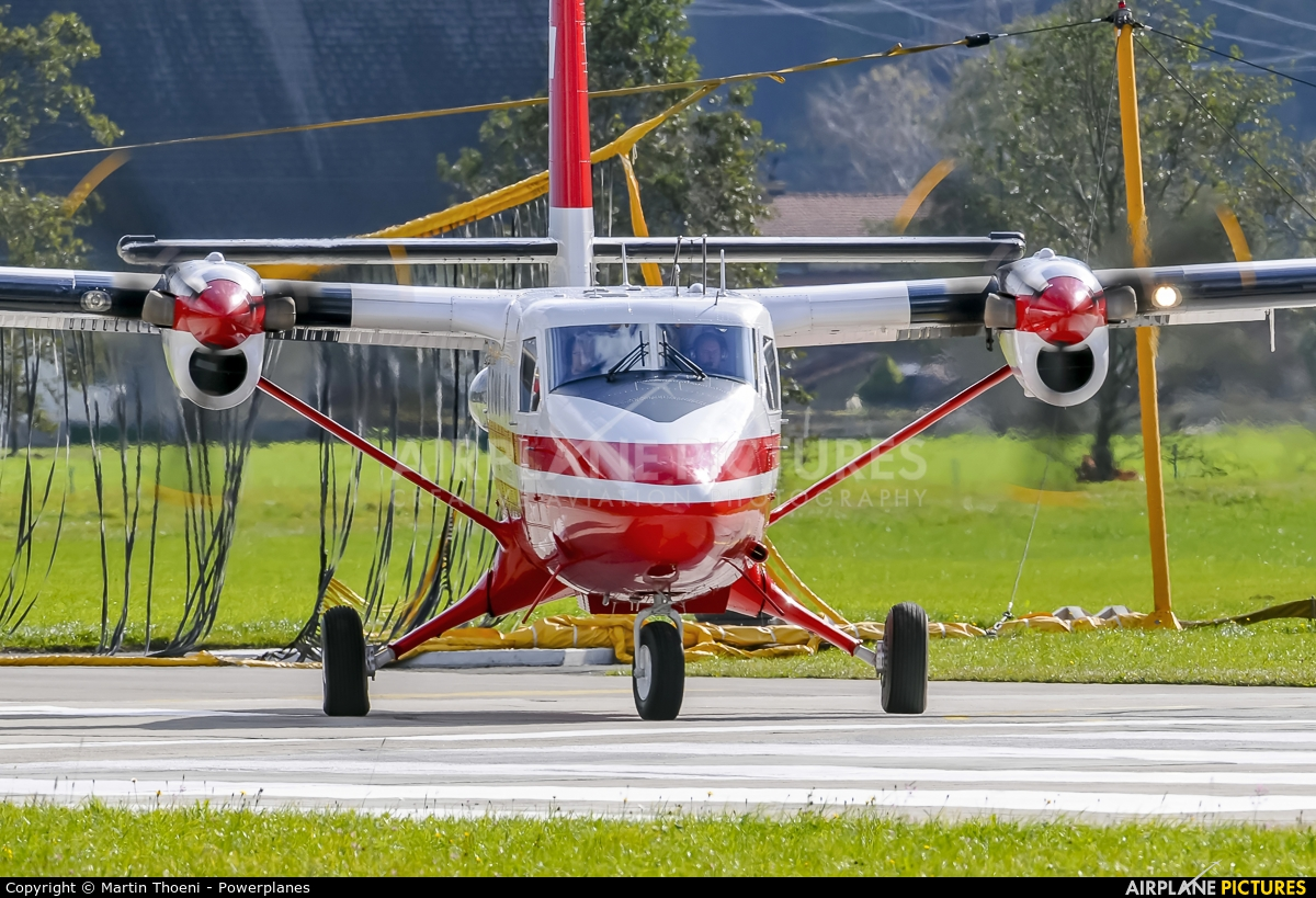 Switzerland - Air Force T-741 aircraft at Meiringen