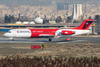 EP-FQG - Qeshm Airlines Fokker 100