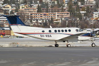9H-RBA - Tyrolean Jet Service Malta Beechcraft 200 King Air