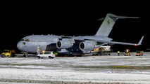 Australian Boeing C17 visited Linz title=