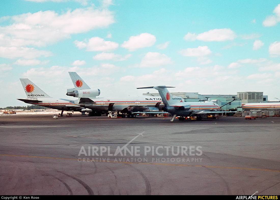 National Airlines N77773 aircraft at Miami Intl