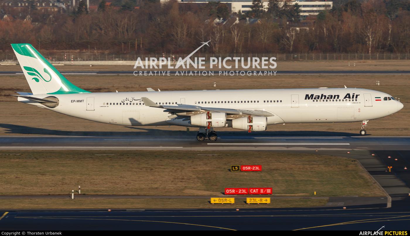 Mahan Air EP-MMT aircraft at Düsseldorf