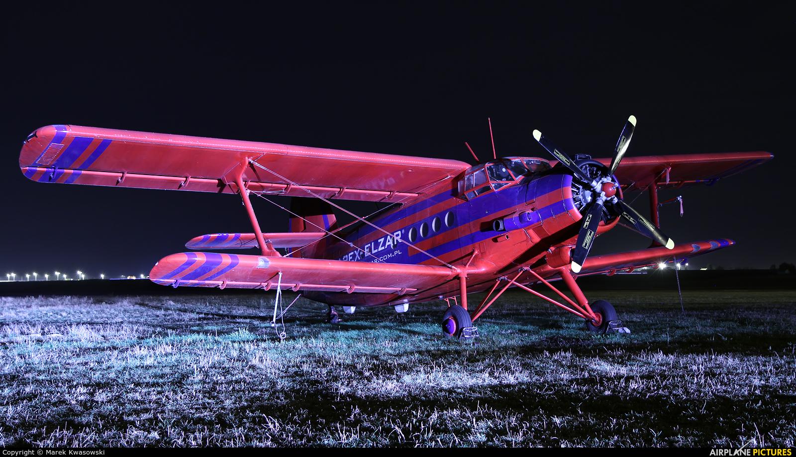 Aeroklub Ziemi Mazowieckiej SP-ANU aircraft at Włocławek - Kruszyn