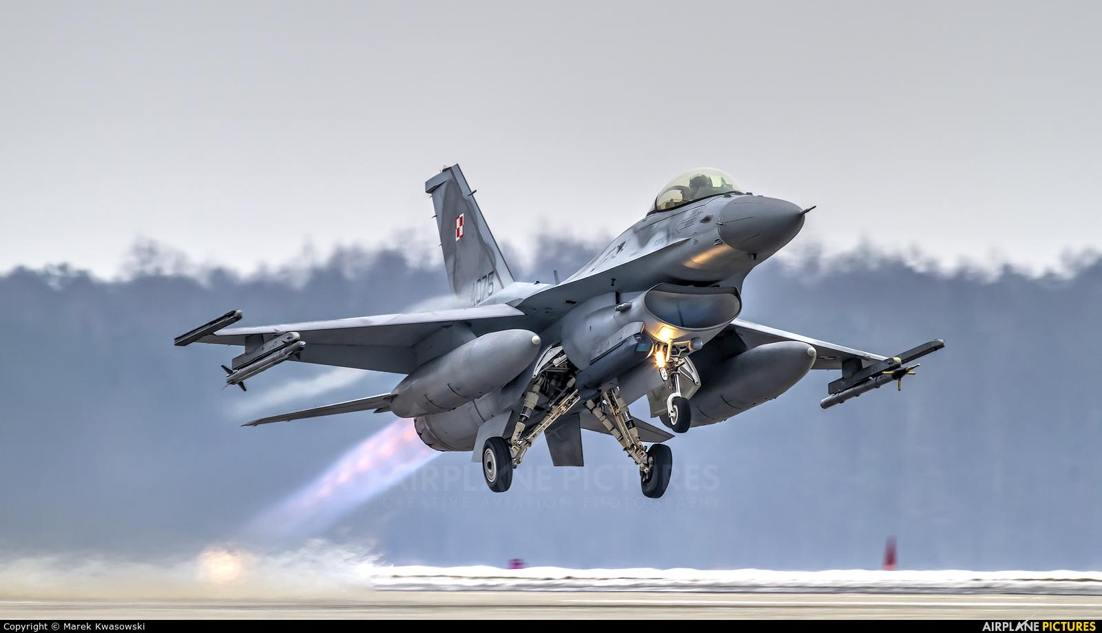 Poland - Air Force 4075 aircraft at Łask AB