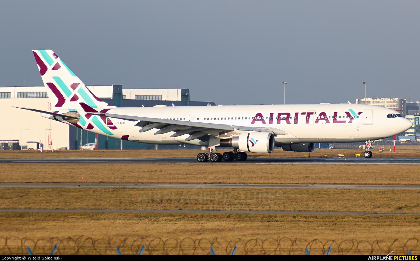 Air Italy EI-GGR aircraft at Warsaw - Frederic Chopin
