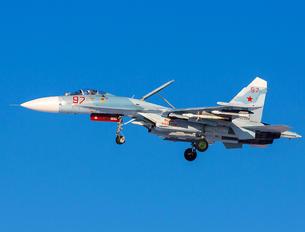 RF-33752 - Russia - Navy Sukhoi Su-27