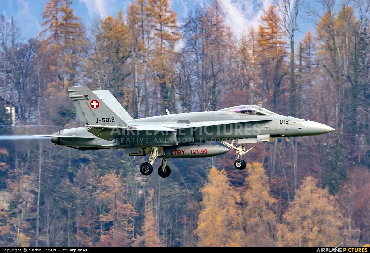Switzerland - Air Force J-5012 aircraft at Meiringen