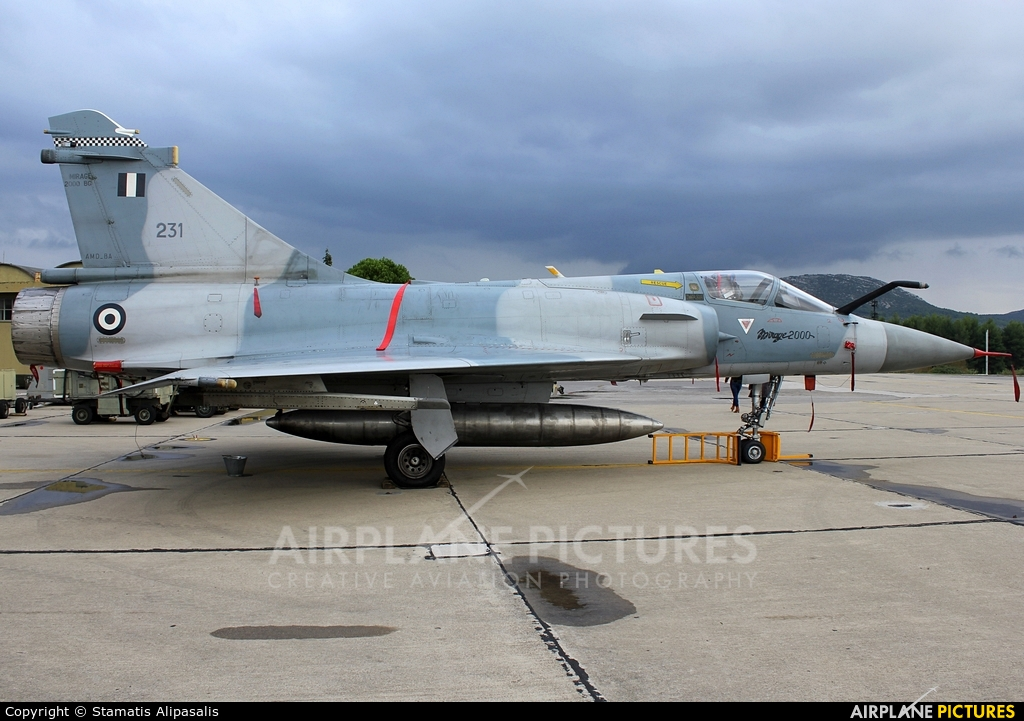 Greece - Hellenic Air Force 231 aircraft at Tanagra
