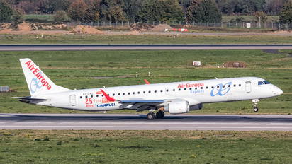 EC-LFZ - Air Europa Embraer ERJ-195 (190-200)