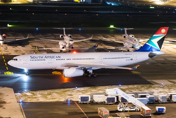 ZS-SXU - South African Airways Airbus A330-200