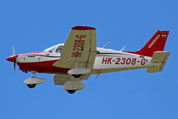 HK-2308-G - Private Piper PA-28 Dakota / Turbo Dakota