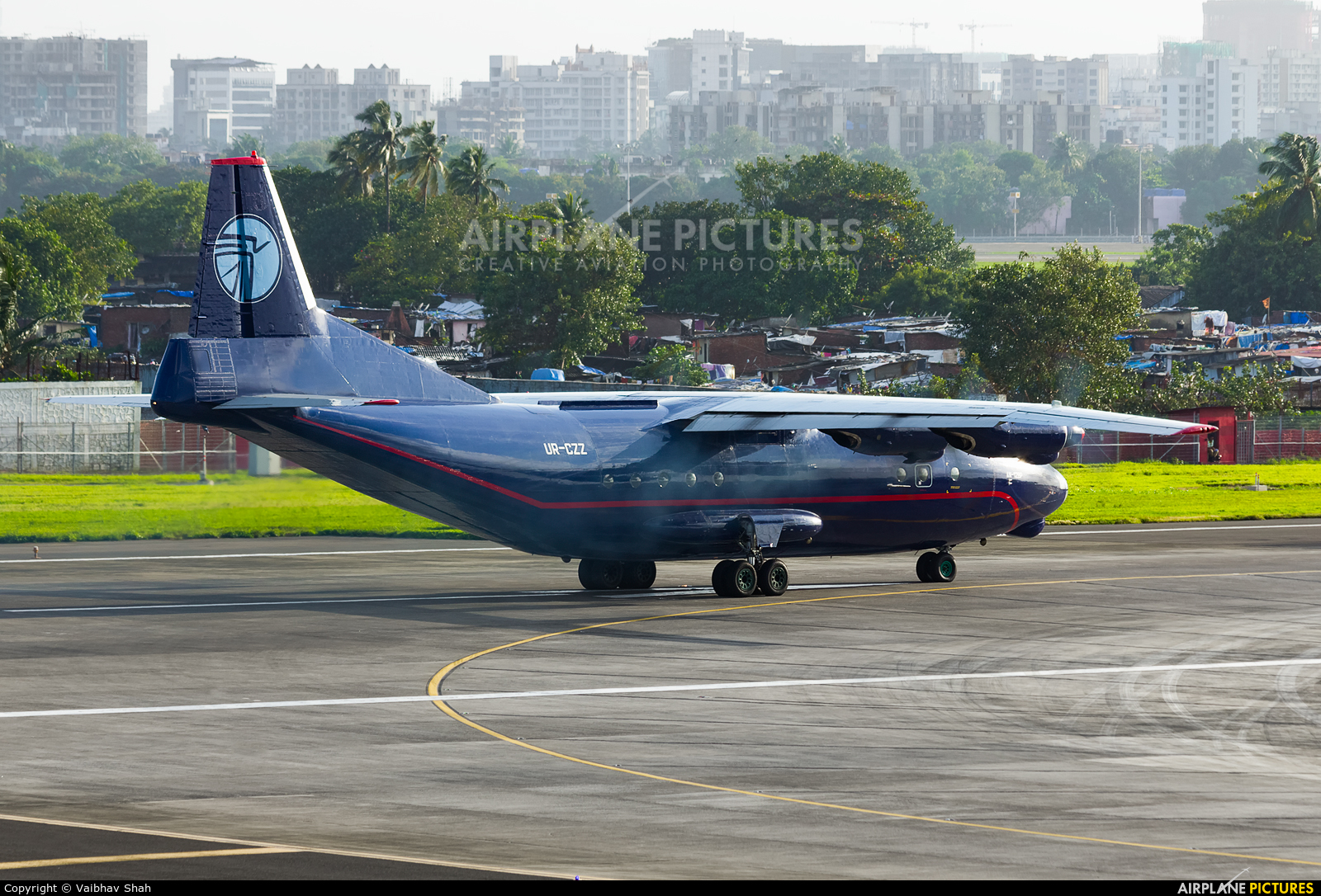 Ukraine Air Alliance UR-CZZ aircraft at Mumbai - Chhatrapati Shivaji Intl