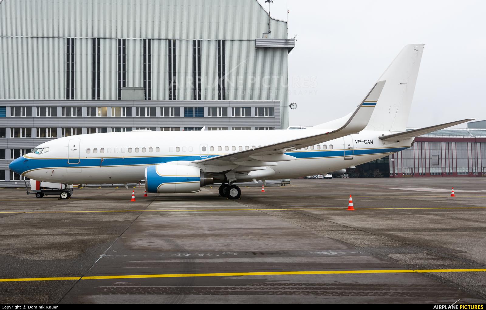 My Jet Asia VP-CAM aircraft at Zurich