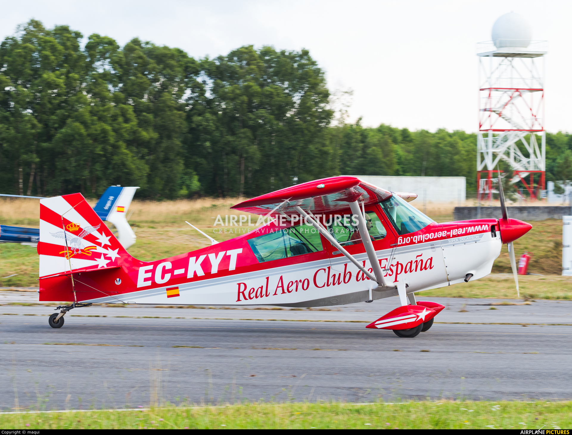 Real Aero Club de España EC-KYT aircraft at Lugo - Rozas