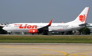 HS-LUO - Thai Lion Air Boeing 737-800