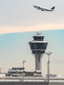EDDM - - Airport Overview - Airport Overview - Control Tower aircraft