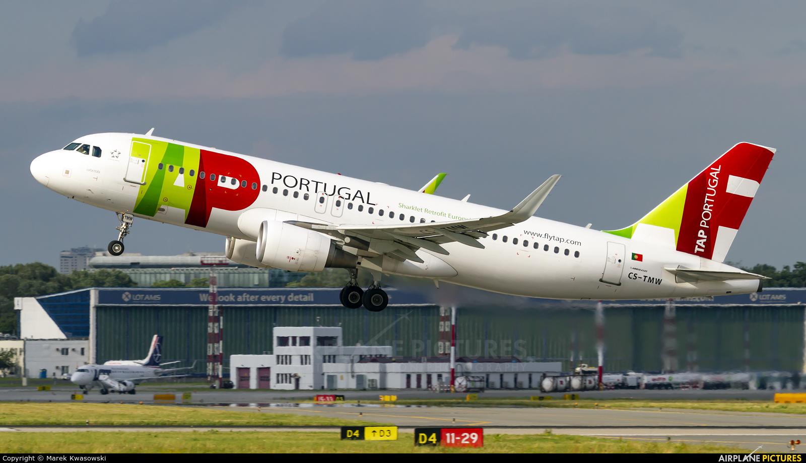 TAP Portugal CS-TMW aircraft at Warsaw - Frederic Chopin