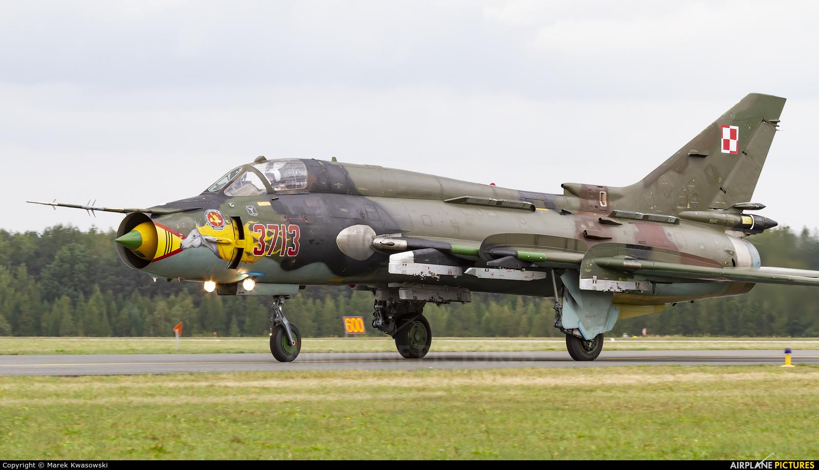 Poland - Air Force 3713 aircraft at Łask AB