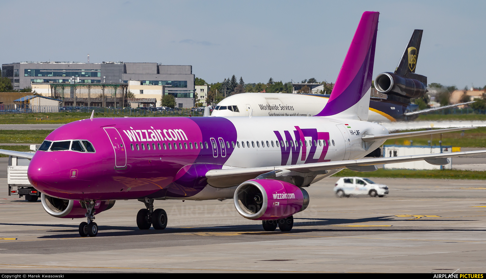 Wizz Air HA-LWF aircraft at Warsaw - Frederic Chopin