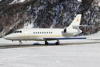HB-IAW - Private Dassault Falcon 2000
