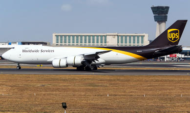 N609UP - UPS - United Parcel Service Boeing 747-8F
