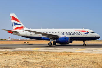 G-DBCJ - British Airways Airbus A319