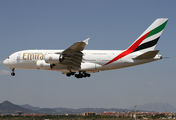 A6-EOP - Emirates Airlines Airbus A380 aircraft