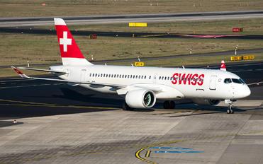 HB-JCC - Swiss Bombardier CS300
