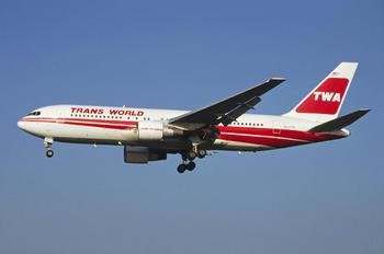N607TW - TWA Boeing 767-200