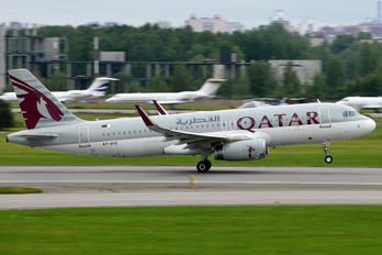 A7-AHS - Qatar Airways Airbus A320