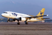 EI-GFO - I-Fly Airlines Airbus A319 aircraft