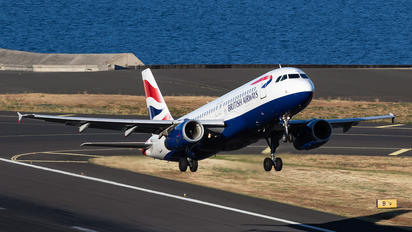 G-GATN - British Airways Airbus A320