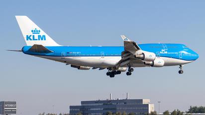 PH-BFY - KLM Boeing 747-400
