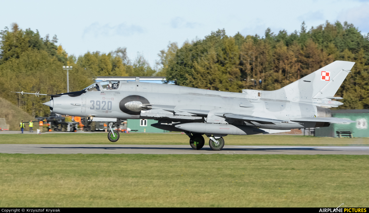 Poland - Air Force 3920 aircraft at Świdwin