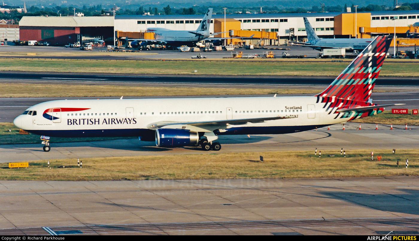 British Airways G-BNWT aircraft at London - Heathrow