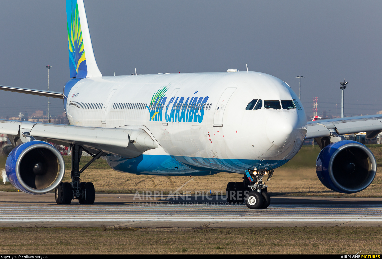Air Caraibes F-HPTP aircraft at Paris - Orly