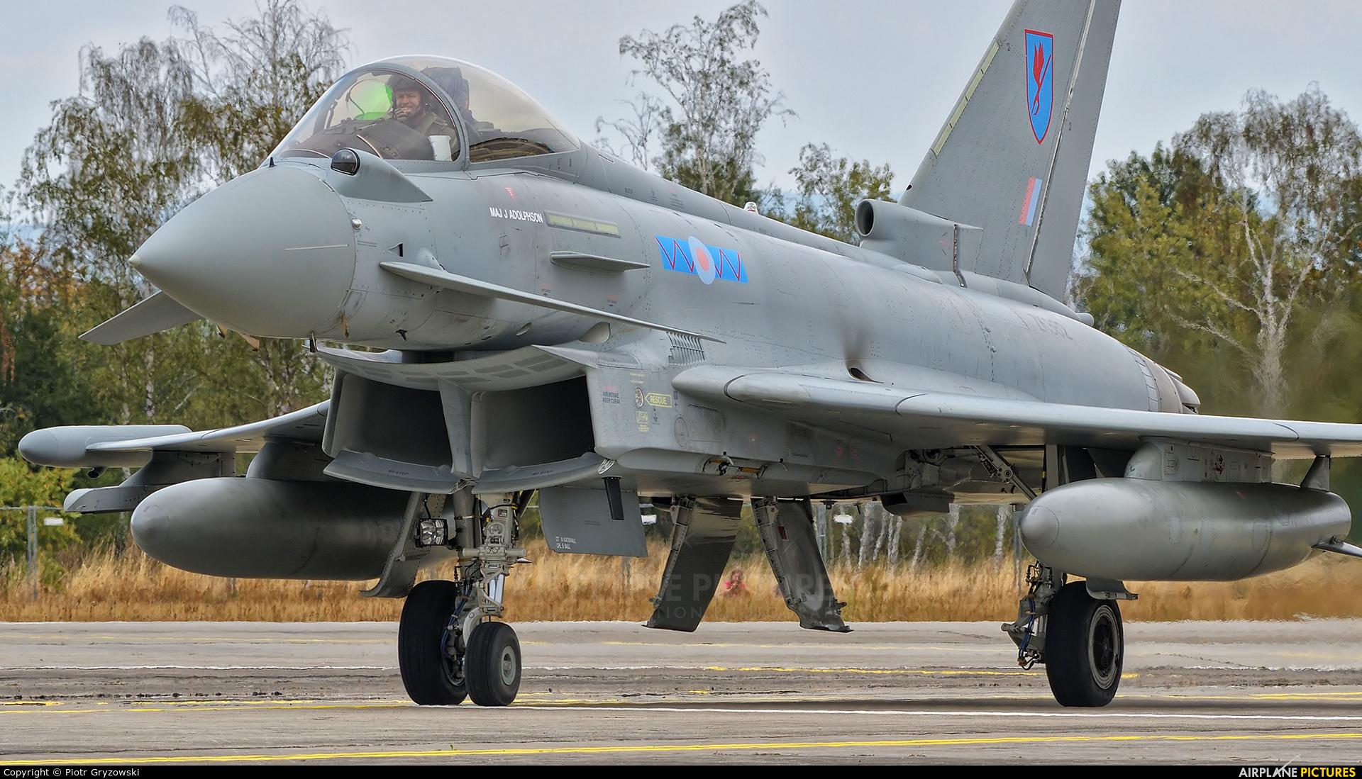 Royal Air Force ZK362 aircraft at Hradec Králové