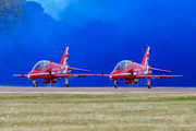 "XX218 - Royal Air Force ""Red Arrows"" British Aerospace Hawk T.1/ 1A aircraft"