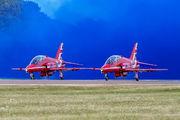 "XX218 - Royal Air Force ""Red Arrows"" British Aerospace Hawk T.1/ 1A aircraft"