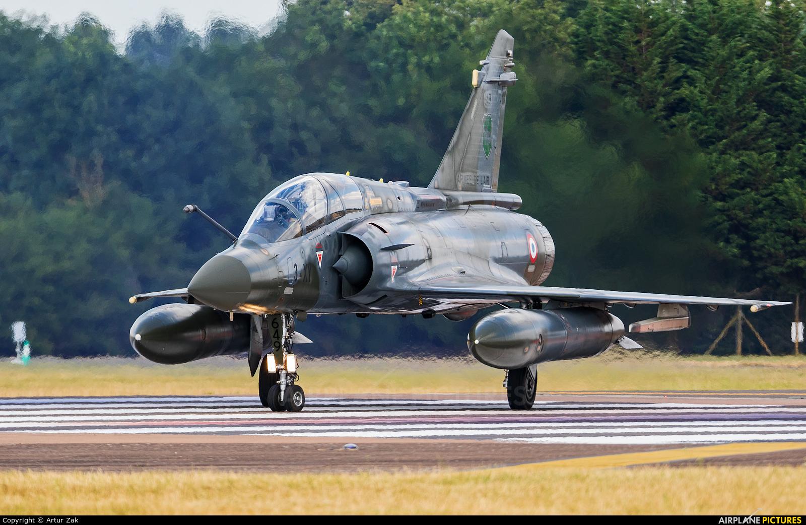 France - Air Force 3-XY aircraft at Fairford
