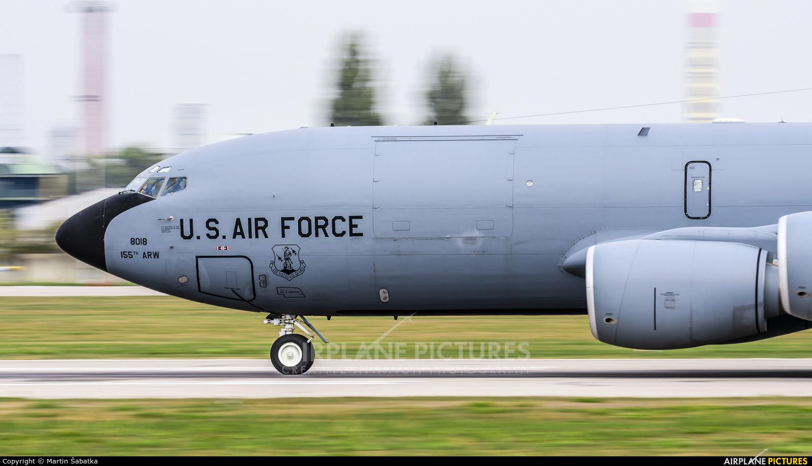 USA - Air Force 63-8018 aircraft at Pardubice
